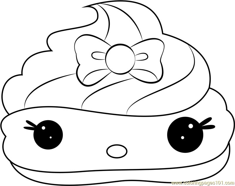 Mintee Gloss-Up Coloring Page