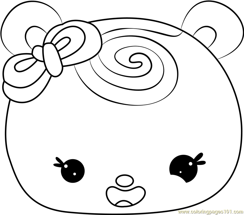 Minty Swirl Coloring Page
