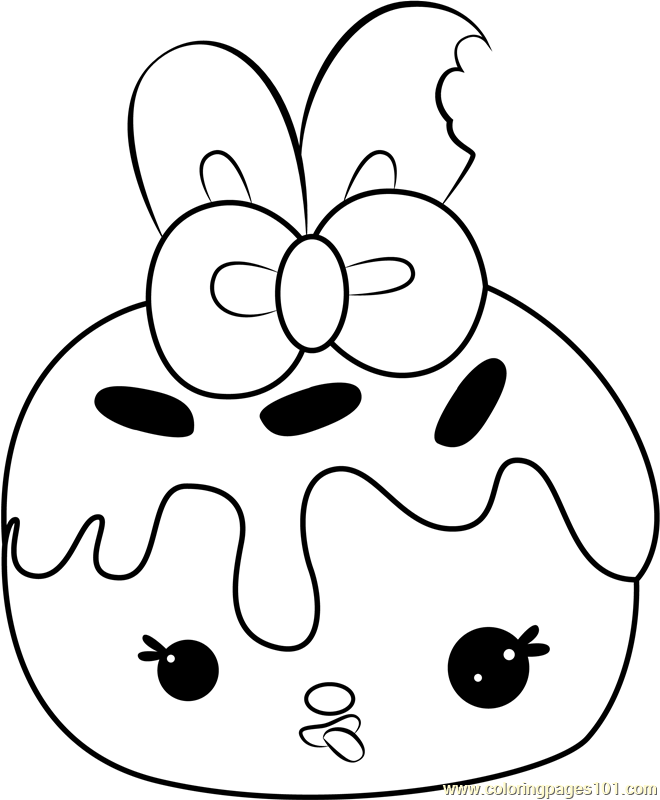 Nana Cream Coloring Page
