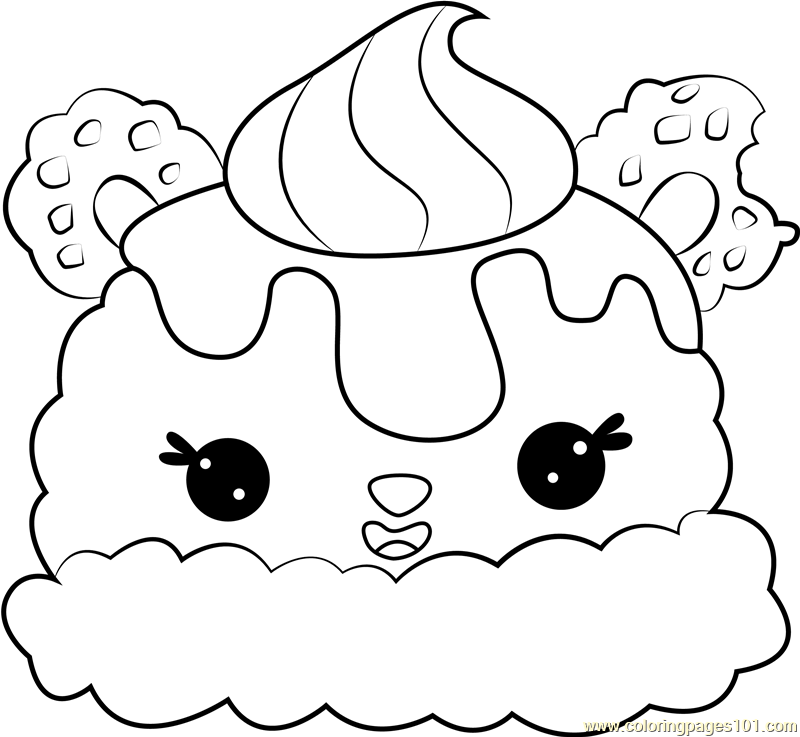 - Neo Trio Coloring Page - Free Num Noms Coloring Pages : ColoringPages101.com