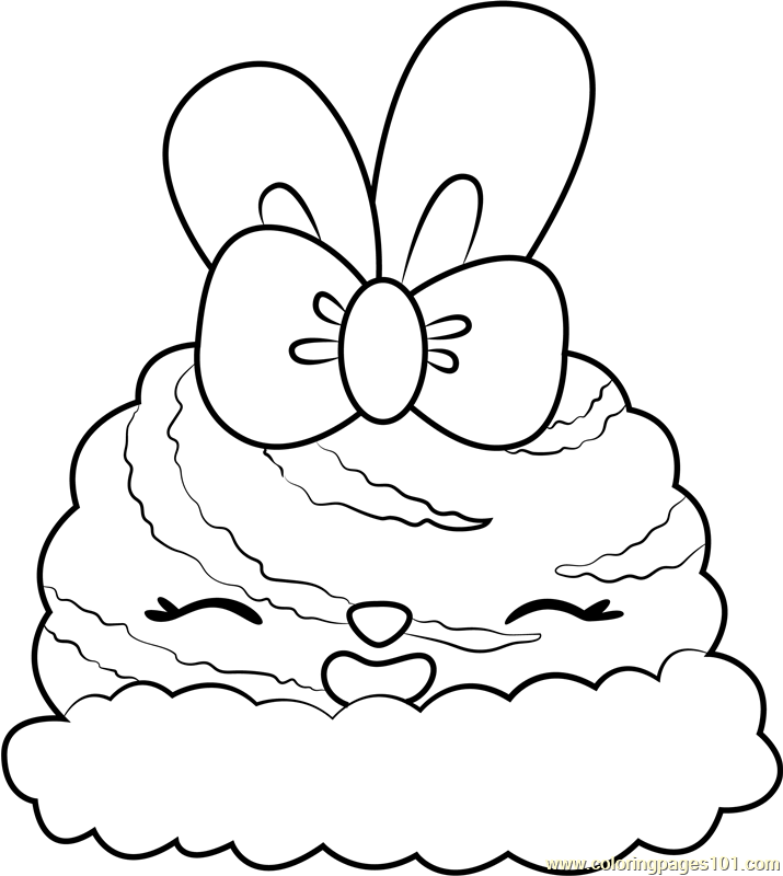 Orange Twirl Coloring Page