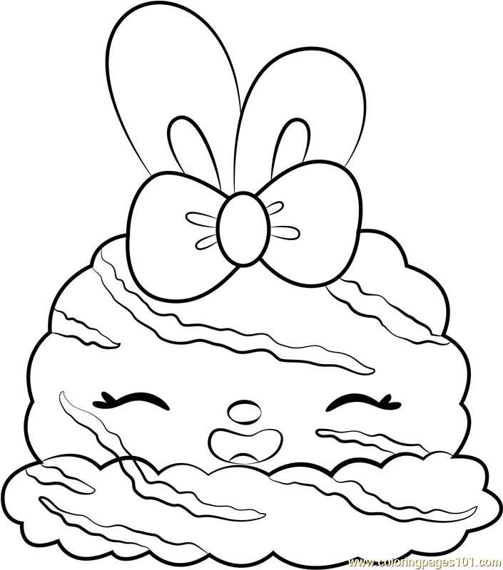Pepper Minty Shine Coloring Page