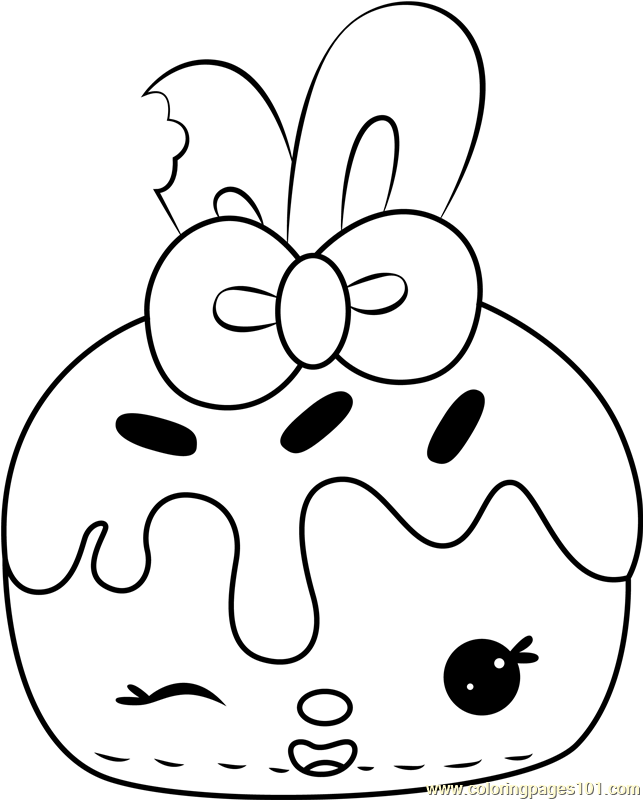 - Pinkie Lemonade Coloring Page - Free Num Noms Coloring Pages :  ColoringPages101.com