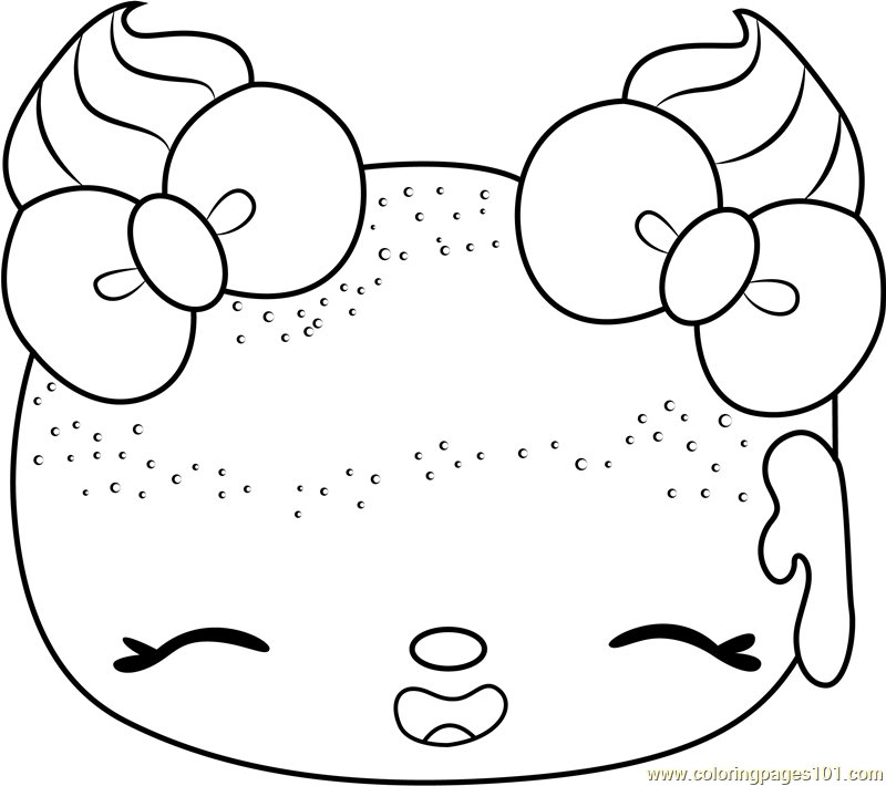 Powdered Sugars Coloring Page