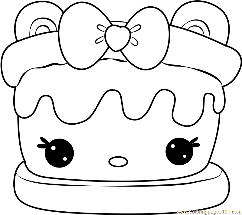 Sara S Mores Coloring Page Free Num Noms Coloring Pages