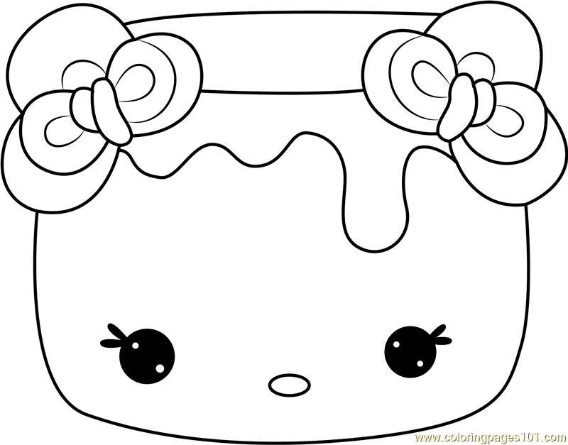 Softy Mallow Coloring Page