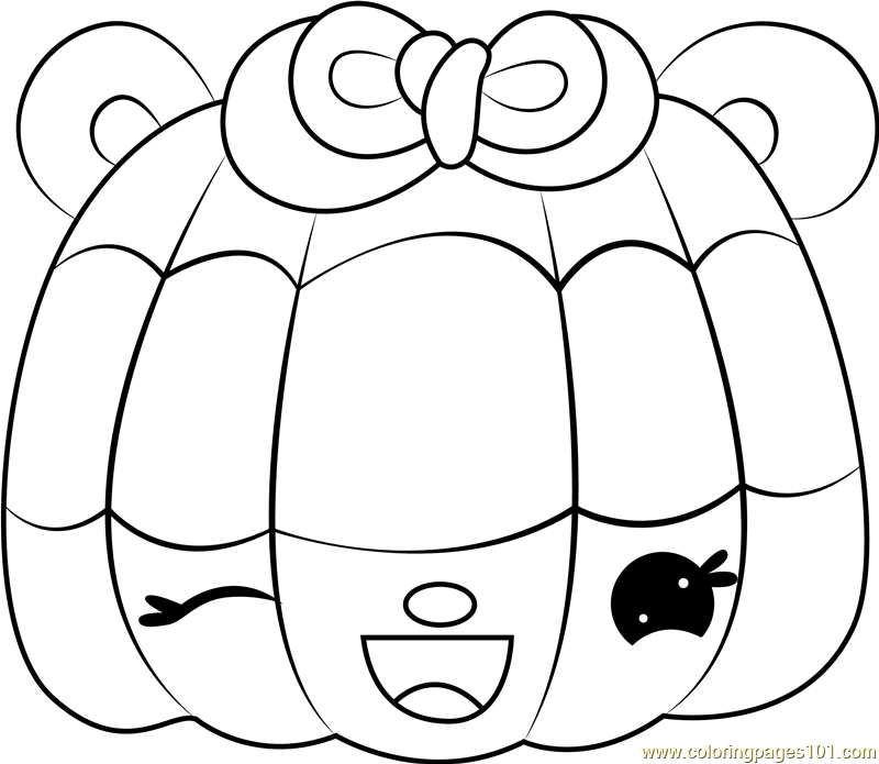 Sparkle Blueberry Coloring Page