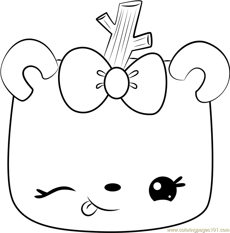Toasty Mallow Coloring Page