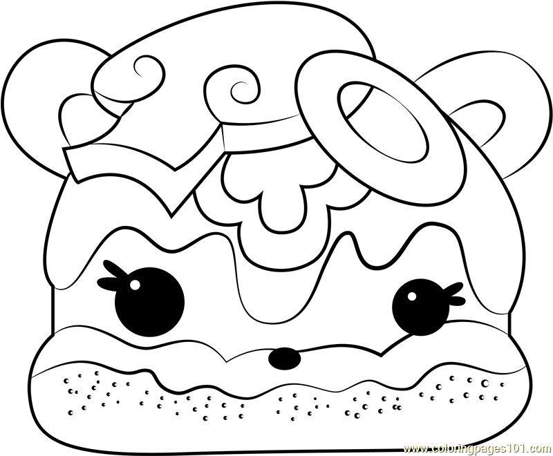 Veggie Terry Coloring Page