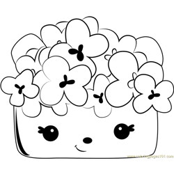 Auntie Corn coloring page