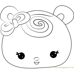 Berry Berry Swirl coloring page