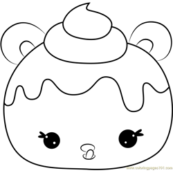 Candie Puffs coloring page
