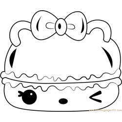 Candy Créme Gloss-Up Free Coloring Page for Kids