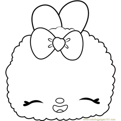 Candy Sparkle Snow Free Coloring Page for Kids