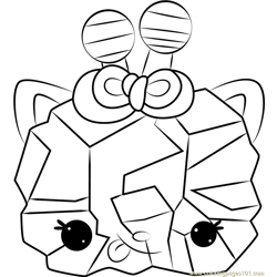 Courtney Candy Free Coloring Page for Kids