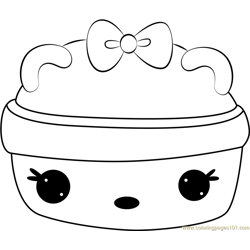 Cucumber Melon Gloss-Up coloring page