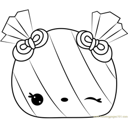 Gabby Grape Free Coloring Page for Kids