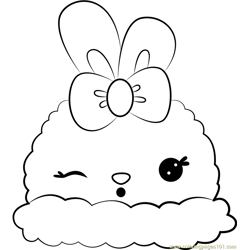 Lisa Lemon Free Coloring Page for Kids