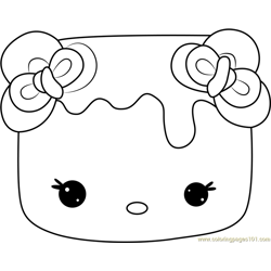 Marsha Violet Free Coloring Page for Kids