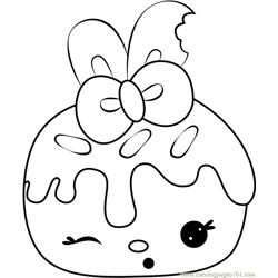 Mimi Mango Free Coloring Page for Kids