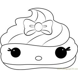 Nilla Gloss-Up coloring page