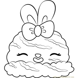 Orange Sherbet coloring page
