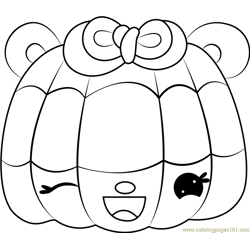 Sparkle Blueberry Free Coloring Page for Kids