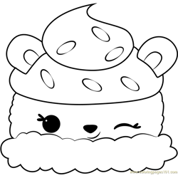 Tango Mango Free Coloring Page for Kids