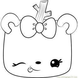 Toasty Mallow Free Coloring Page for Kids