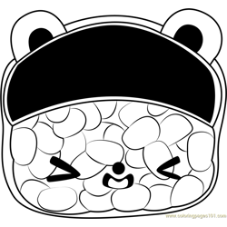 Tori Toro Free Coloring Page for Kids