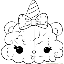 Twinzy Puffs coloring page
