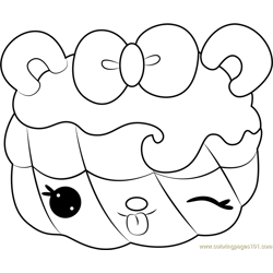 Valerie Vanilla Free Coloring Page for Kids