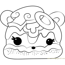 Veggie Terry Free Coloring Page for Kids