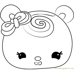 Wendy Wild Berry Free Coloring Page for Kids
