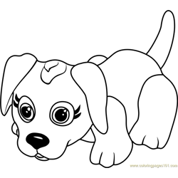 Danish Pointer coloring page