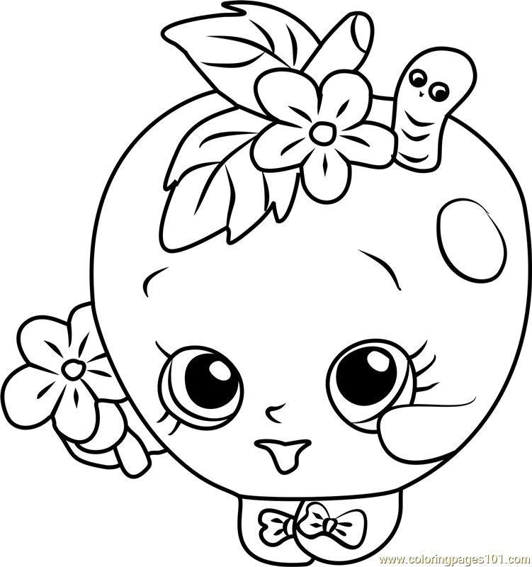 Printable Coloring Pages S Hopkins Soda Pops Coloring Pages