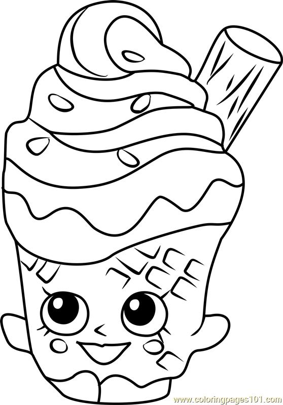 Coney Shopkins Coloring Page