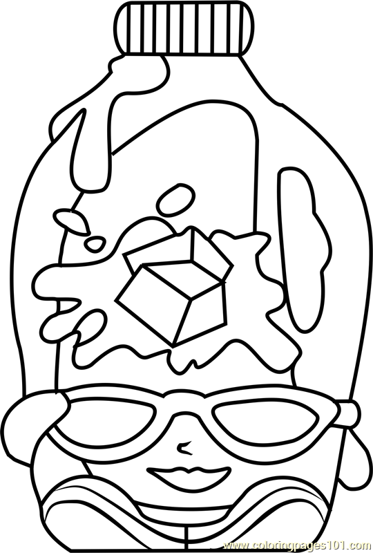 Coolio Shopkins Coloring Page Free Shopkins Coloring