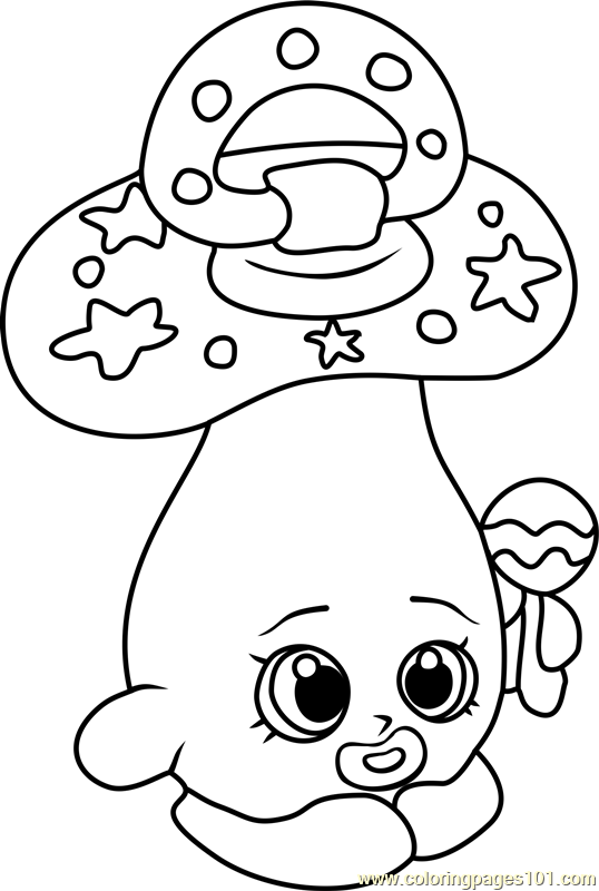 Snow Crush Shopkin Coloring Pages Coloring Pages