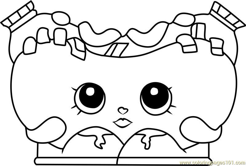 Spilt Milk Shopkins Coloring Page - Free Shopkins Coloring Pages ... | 539x800