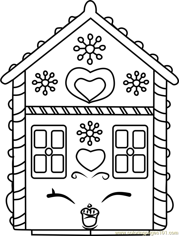 Ginger Fred Shopkins Coloring Page Free Shopkins