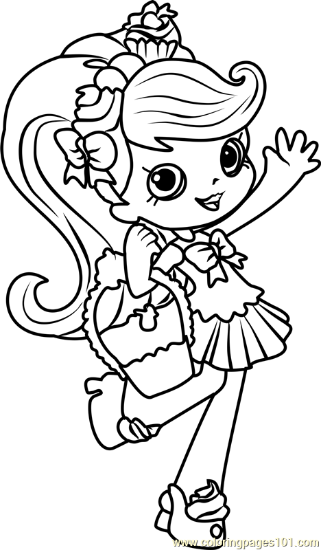92 shopkins coloring pages lipstick shopkins for Lipstick shopkins coloring page
