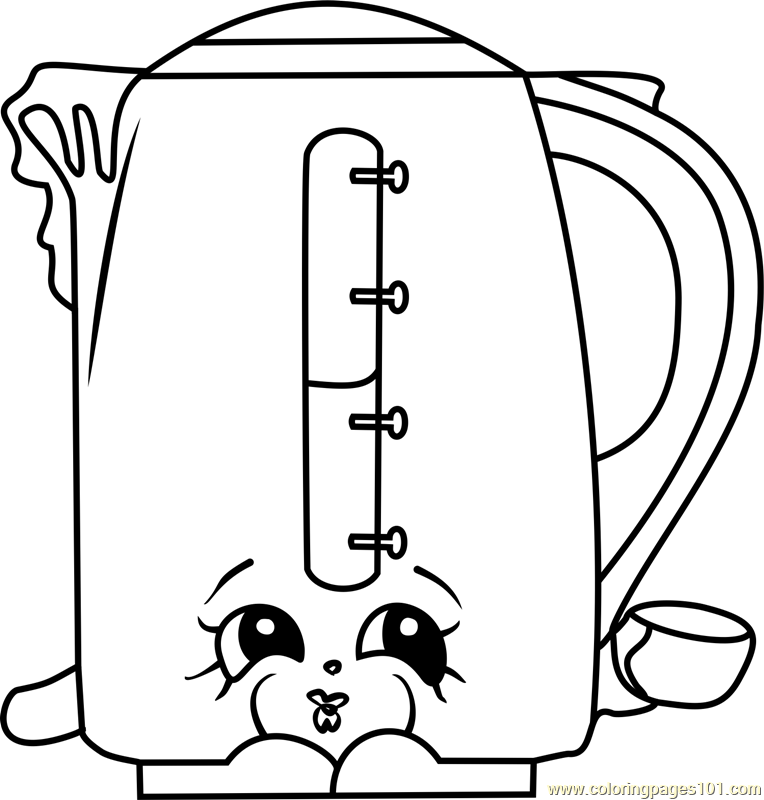 Ma Kettle Shopkins Coloring Page