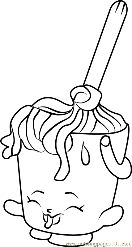 Molly Mops Shopkins Coloring Page