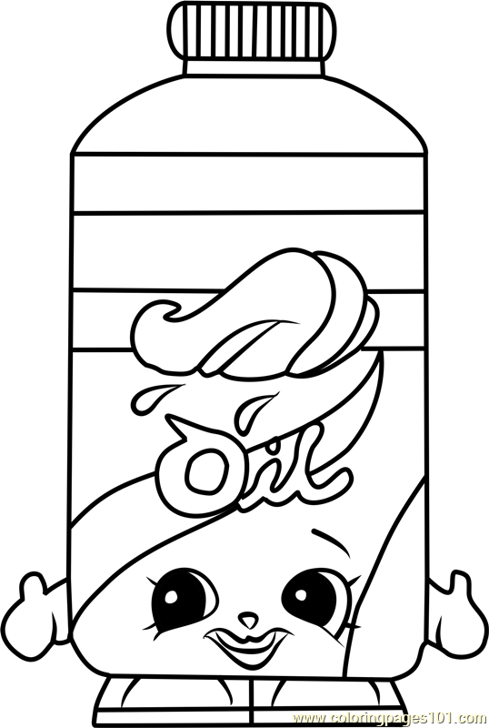 Olivia Oil Shopkins Coloring Page - Free Shopkins Coloring Pages ...