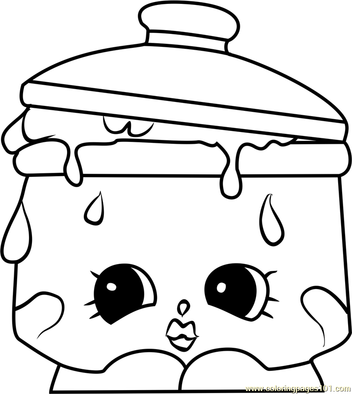 shopkins snow crush coloring pages - photo#38