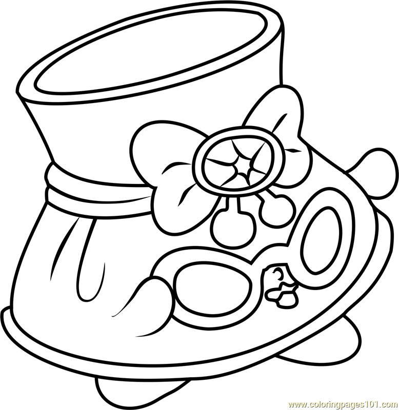 Shopkins Coloring Pages Lippy Lips