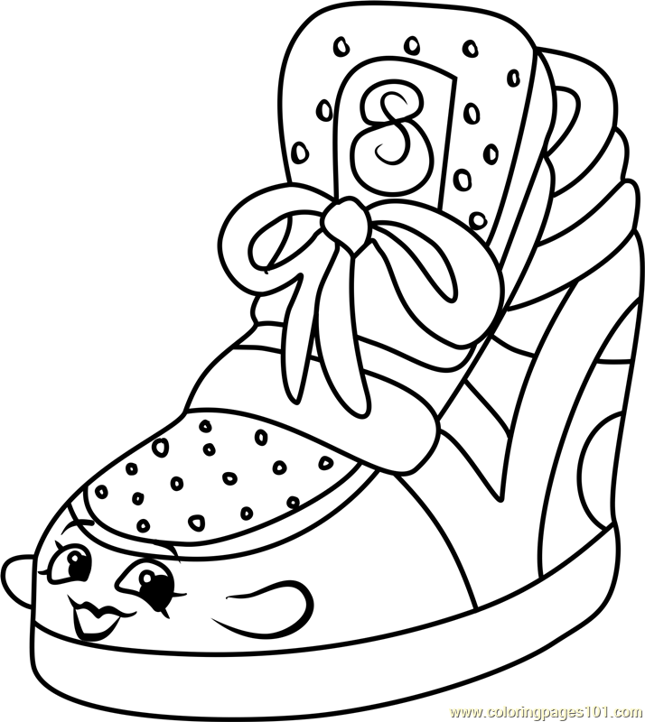 Sneaky Wedge Shopkins Coloring Page - Free Shopkins ...