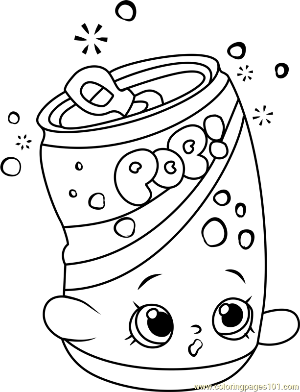 soda pops shopkins coloring page
