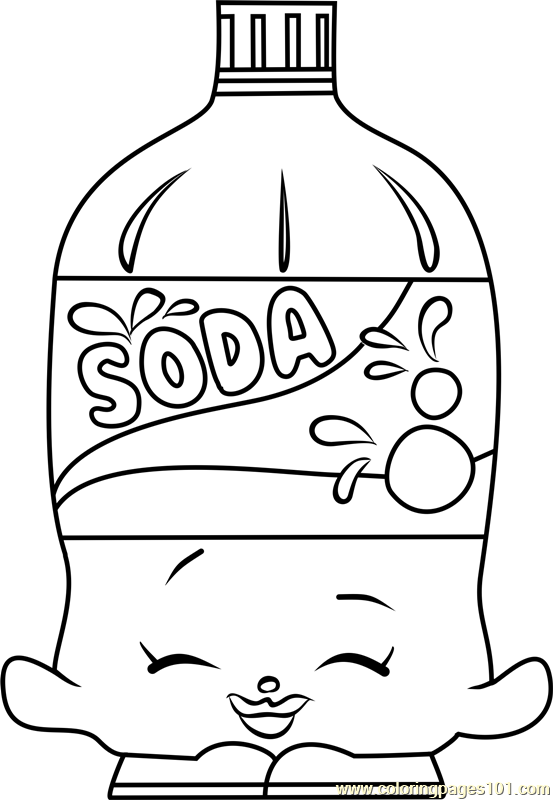 soda coloring pages - photo#17